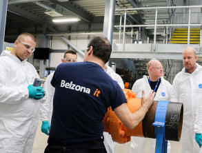 Watch our Technical Service Engineers apply Belzona to the highest standards