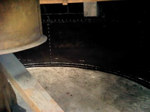 Tank walls coated with Belzona 5811 (Immersion Grade) to provide long-term protection and extend asset life