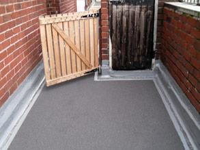 Belzona 3131 (WG Membrane) applied with aggregate to provide an anti-slip finish